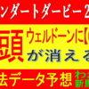ジャパンダートダービー2021(大井競馬)消去法予想|ウェルドーンに【0.0.0.13】危険データ
